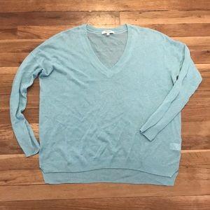 Madewell Robins Egg Blue sweater